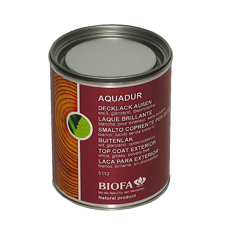 AQUADUR, watergedragen buitenlak,, glanzend, zonder solventen