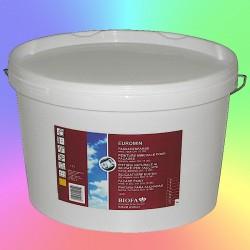 EUROMIN, silicaatverf voor gevels, aangekleurd