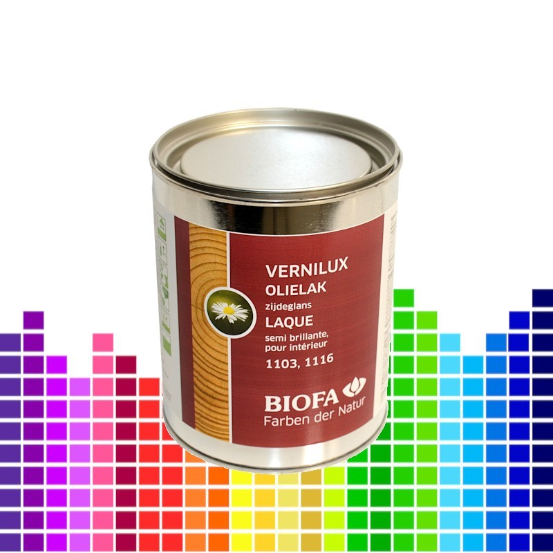 VERNILUX, laque à l'huile intérieure semi-brillant teintée