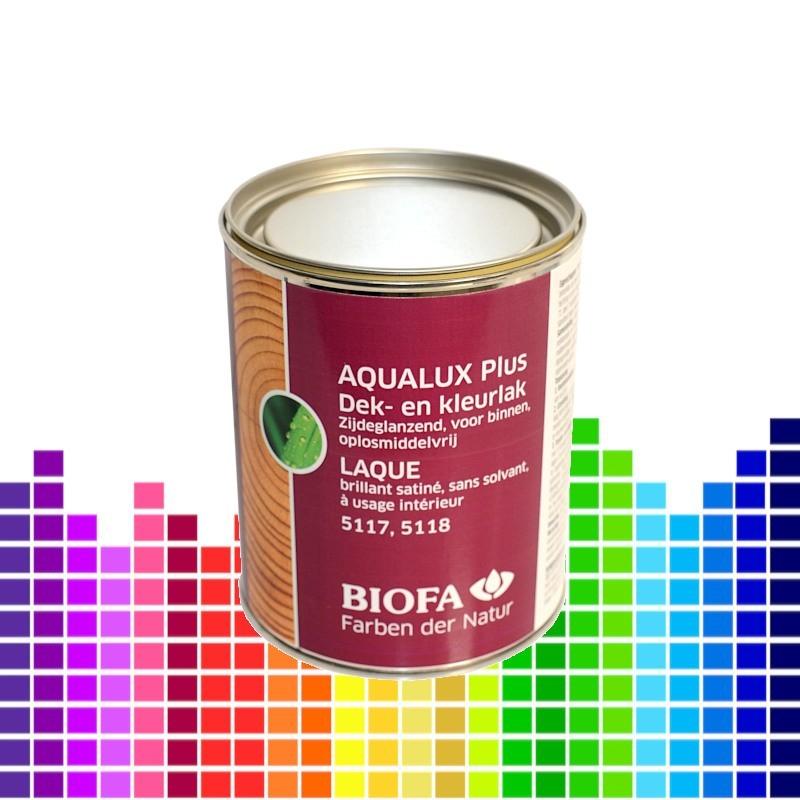 AQUALUX PLUS, watergedragen binnenlak, satijnglanzend, zonder solventen, aangekleurd