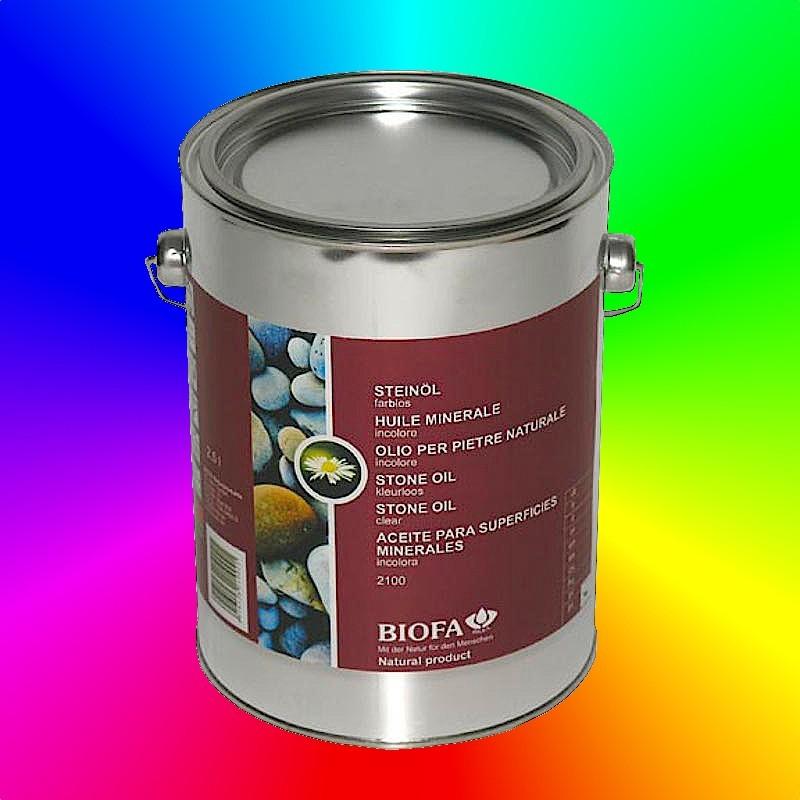 STONE OIL, voor beton en tegels binnenshuis aangekleurd